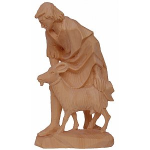 6513 - Sherpherd with goat (Pine)