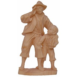 6515 - Shepherd with child (Pine)