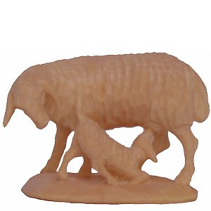 6533 - Sheep with lamb (Pine)