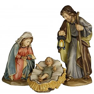 6602 - Holy Family (child not fixed in cradle) (Maple)