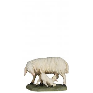 6633 - Sheep with lamb (Maple)