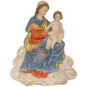1130 - Virgin Mary on cloud (relief)