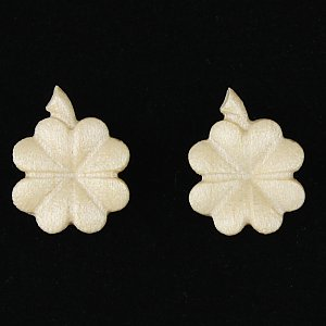 3801 - Earrings four clover (with box)