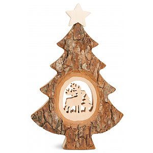 WA4455-3 - Christmas tree with sawn motif: