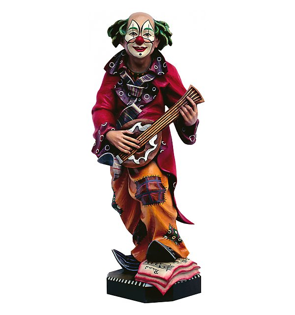 4320 - Clown con mandolino