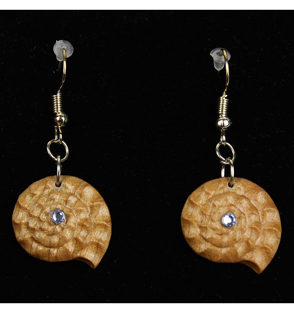 3814 - Earrings fossil hanging KIRSCHE_KR